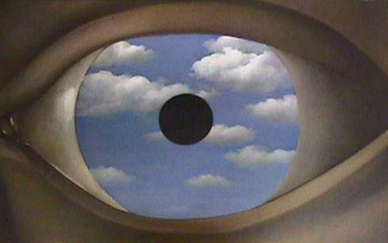 Internet un univers postmoderne caf s philo de for Magritte le faux miroir