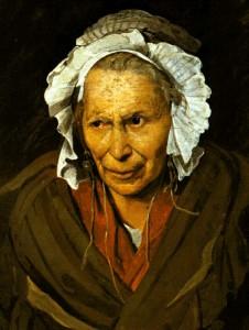 La monomane de l'envie. THéodore Géricault. 1822. Musée des beaux Arts de Lyon