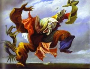 Ernst Max. L'ange au foyer, ou, Le triomphe du surréalisme. 1937