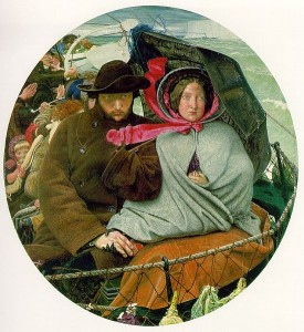 The last of England. Ford Madox Brown. 1855. Birmingham and Art Gallery. jpg