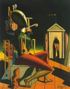 The predictor. 1916. Georgio di Chirico. Coll. particulière