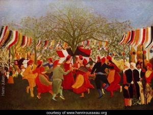 Rousseau. Le centenaire de l'indépendance. 1892. Musée Paul Getty. Los Angeles.