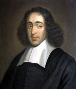 Baruch Spinoza. 1665. Herzog August Bibilothek. Wolfenbütel. Germany.