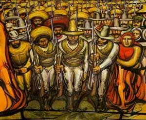 David Alfaro Siqueiros. 1933. Les révolutionnaires