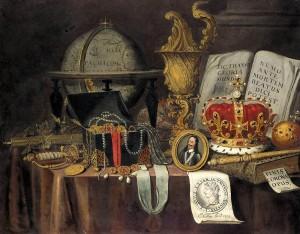 Collier Evert. Vanité. 1662. Riskmuséum. Amsterdam