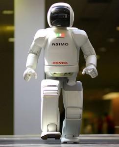 Robot ASIMO. Image Wikipedia