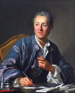 Denis Diderot, par L.M. Van Loo. 1767. Musée du Louvre.
