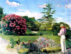 Frédéric Bazille. Le petit jardinier. (1866-1869). Musée de Houston.USA.