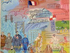 La fée électricité. Raoul Dufy. 1937. Musée des Arts modernes de Paris